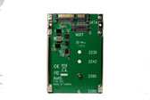 """M.2 SATA to 2.5"""" SATA with 7mm Frame (support M.2 2242, 2260, 2280)"""
