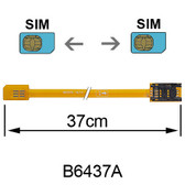 B6437A (SIM to SIM card Extender)