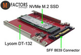 M-Factors NVMe M.2 to SATA