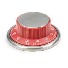 Easily Read Kitchen Timer –Red