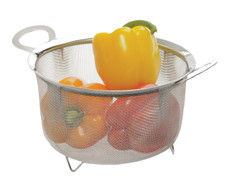 Endurance® Wide Rim Mesh Basket