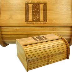 Add Your Name - Fairy Tale Wedding Bread Box