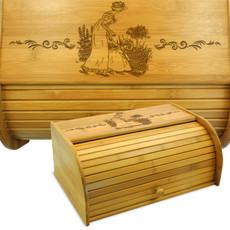 Mother Daughter Bread Box