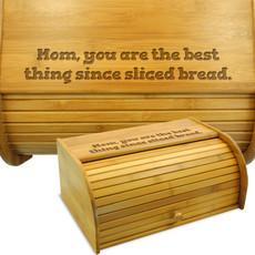 Sliced Bread Wood Breadbin