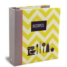 Half Page Cookbook Album - Kitchen Gear