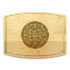 Aztec 9x12 Grooved Personalized Cutting Board