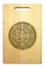 Aztec 10x16 Hand Hole Maple Cutting Board