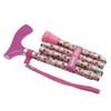 switch sticks Folding Walking Stick, Hot Pink