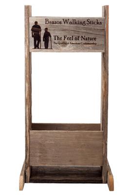 Barnwood Display Stand
