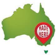 badges made in Australia
