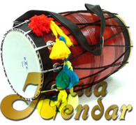 Trust us, there's nothing standard about this dhol, it's actually a very well made instrument