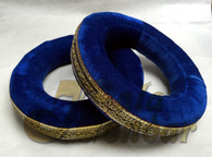 Tabla Rings in Royal Blue