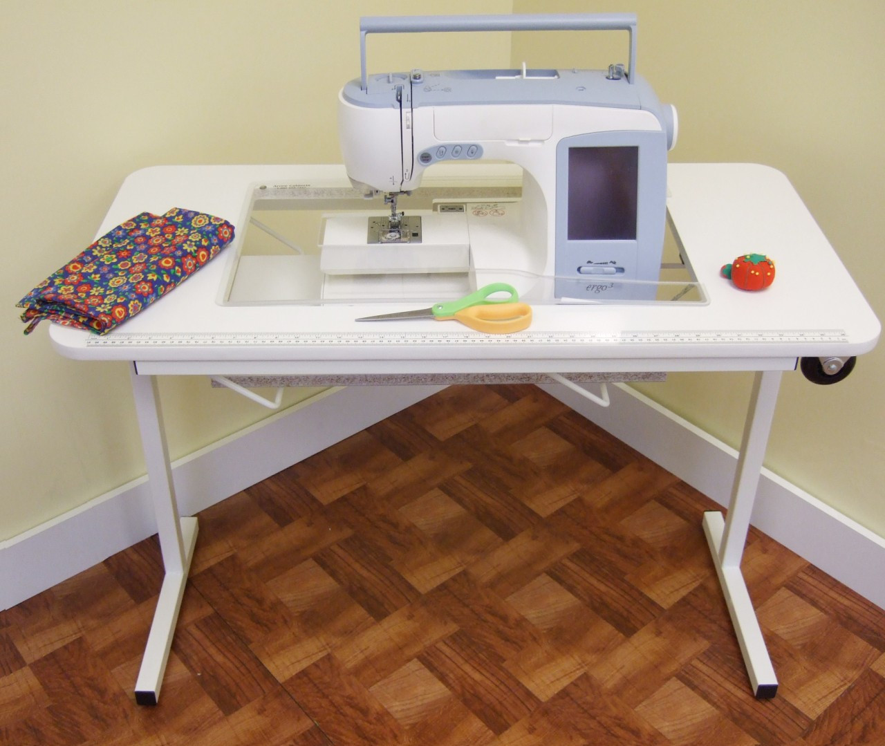 Arrow 98611 Gidget 2 White Sewing Machine Table With Wheels. Cabinet Drawer Front Replacement. Snooker Table For Sale. Desk With X Legs. Solar Desk Toys. West Elm Secretary Desk. Small Round Table. Standing Desk Monitor Riser. Left L Shaped Desk