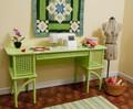 Arrow 1014 Florie Pistachio Green Sewing Machine Cabinet