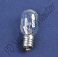 Sewing Machine Screw-In Light Bulb (120 Volts, 15 Watts) 9SCW - Baby Lock, Brother, Elna, Husqvarna Viking, Janome New Home, Singer