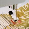 "Sewing Machine Snap On Clear 1/4"" Piecing Presser Foot 4129274-47 - Husqvarna Viking"