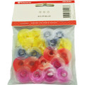 Genuine Top Quality Plastic Sewing Machine Bobbins Multicolored (Pack of 20) 4131477-45 - Husqvarna Viking, White
