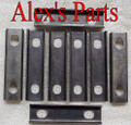 Rocker Alignment Guides, Pedestal Mount, SB Ford, 302 351W 1978 up Fulcrum Guide
