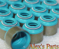 "3/8"" X .625"" VALVE SEALS, VITON, FIXED BODY, 16 pieces"