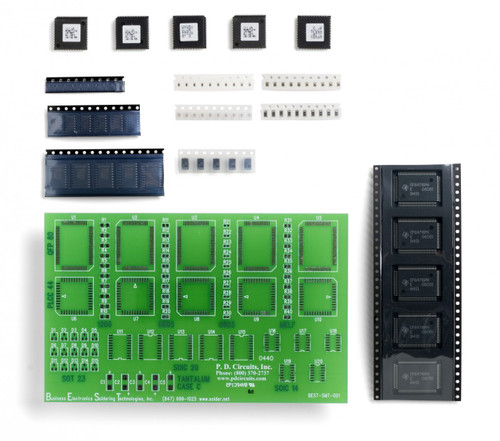 SMT lead free solder training kit