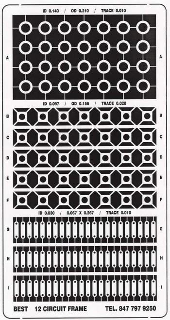 Circuit Frame BEST12CktTrack