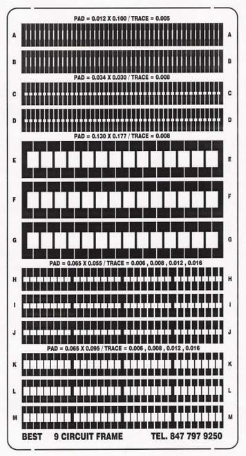 Circuit Frame BEST9CktTrackDF