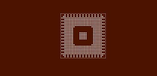 Reballing preform for Intel 845MP/855PM Chipset