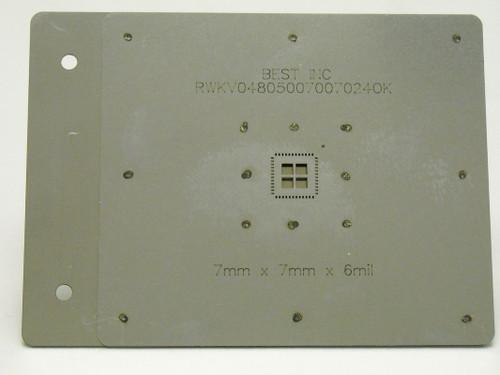 APR Component Printing Stencil 1