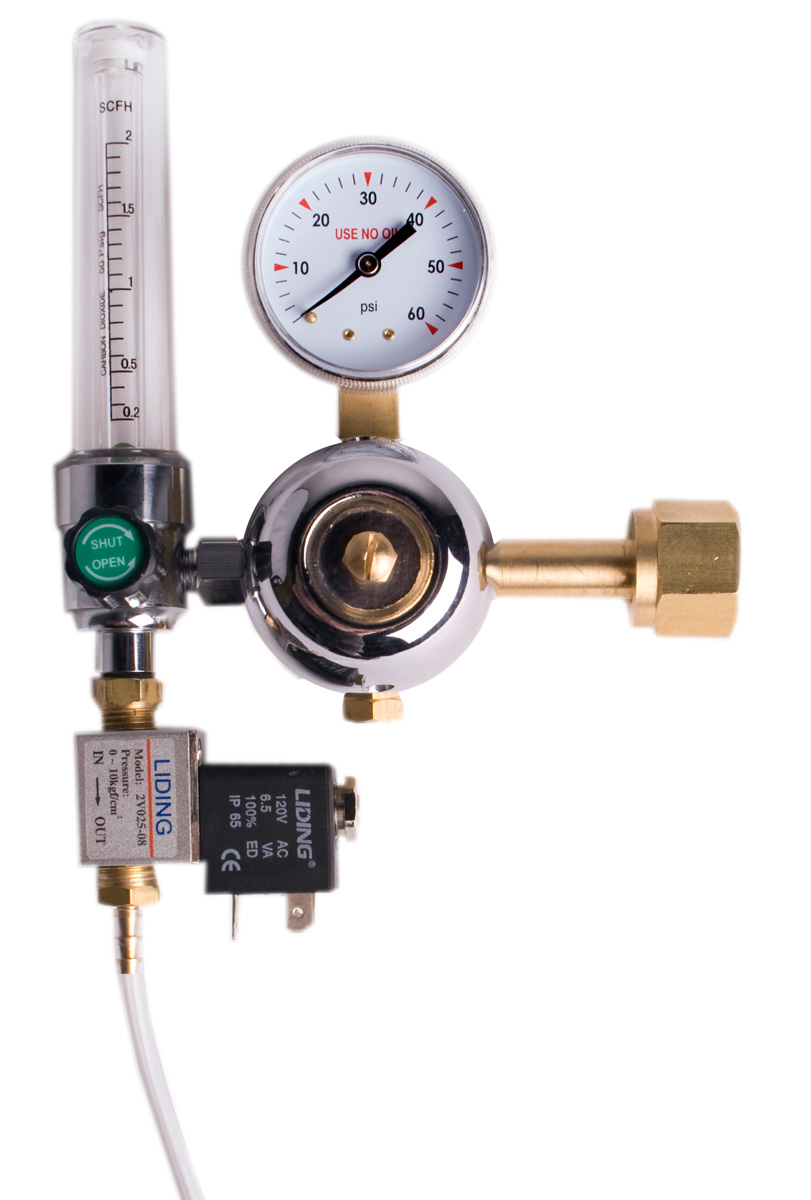 CO2 Kit - Regulator and Flow Meter