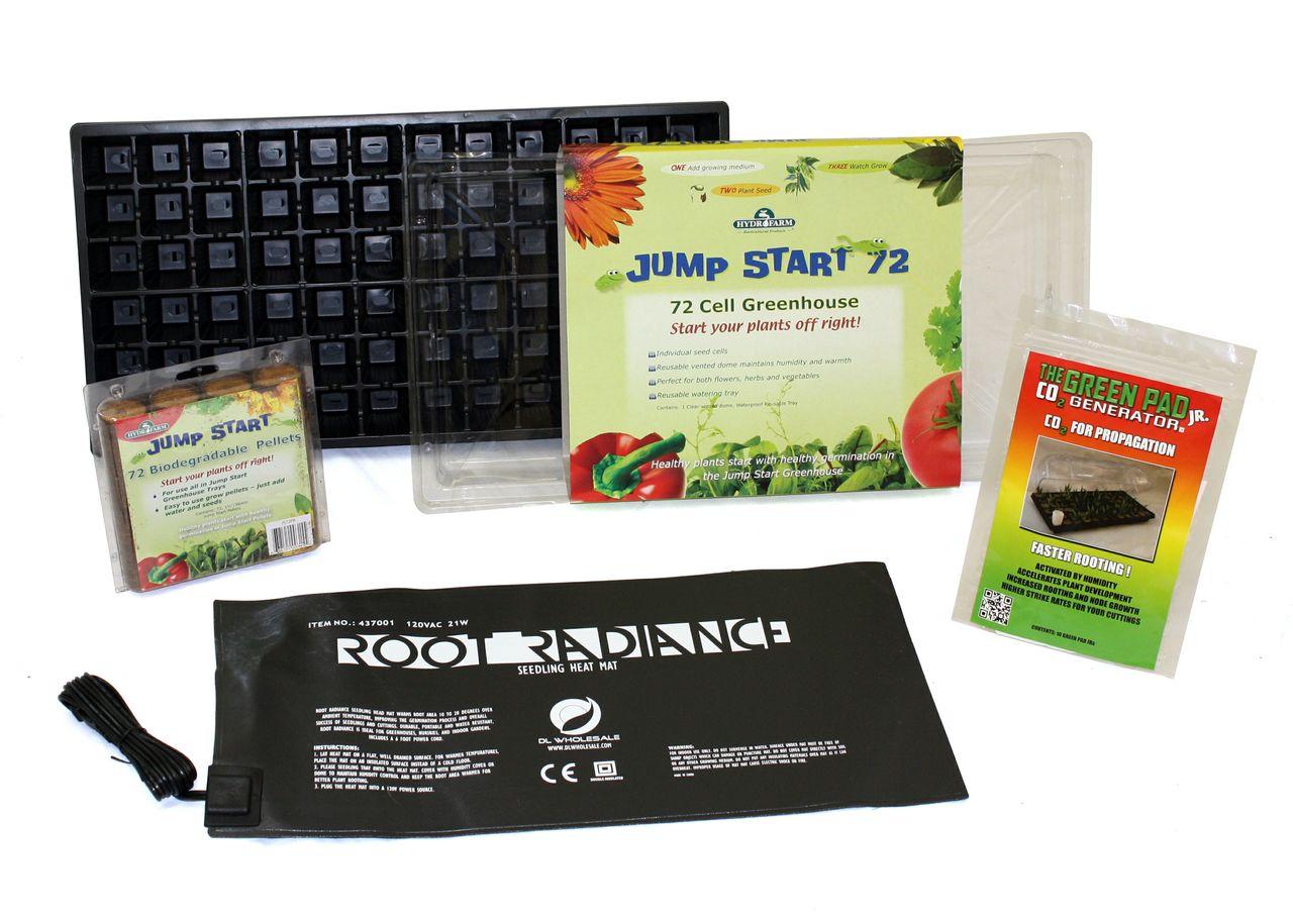 jump start seed starter kit for soil