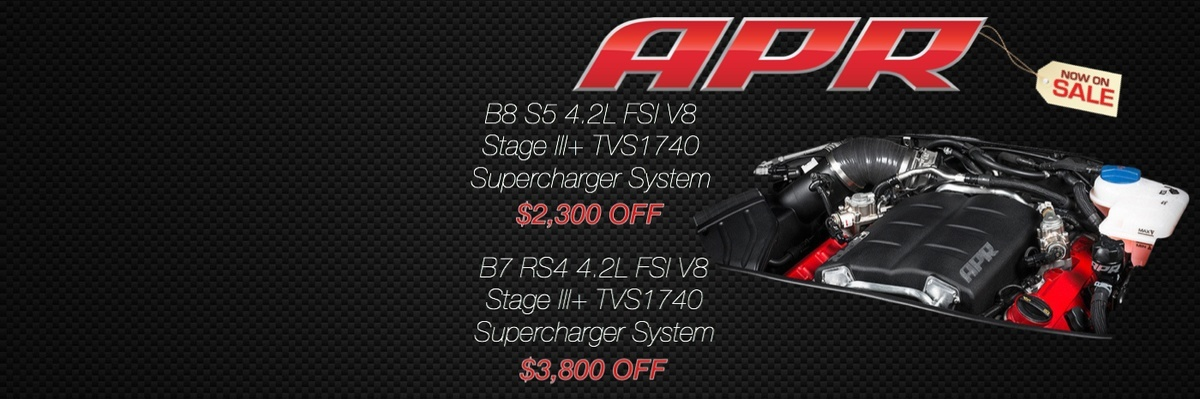 APR Supercharger System $3,800 OFF