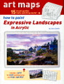 International Artist: Art Maps - How to Paint Expressive Landscapes in Acrylic Jerry Smith