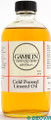 Gamblin Cold Pressed Linseed Oil 237ml