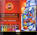 Koh-i-noor Artists' Colored Pencils Polycolor Set of 24 colors