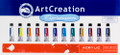 ArtCreation Acrylic Color Set of 12 colors (12ml tubes)