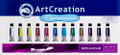 ArtCreation Gouche Set of 12 colors (12ml tubes)