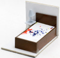 Scale Model Bed (Single) 1:50