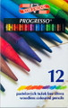 Koh-i-noor Progresso Woodless Colored Pencils Set of 12 colors