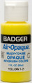 Badger® Air-Opaque Yellow 1oz