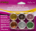 Premo! Sculpey® Fashion Art 6 piece Glitter Set, Metallic