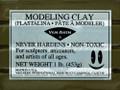 Van Aken Plastalina Sculptor Gray 1lb