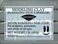 Van Aken Plastalina Silver Gray 1lb