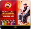 Koh-i-noor Mondeluz Aquarelle Colored Pencils 24 colors