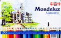 Koh-i-noor Mondeluz Aquarelle Colored Pencils 36 colors