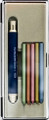 Koh-i-noor Mephisto Clutch Pencil Blue 5.6 with Metallic Leads Set