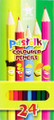 Koh-i-noor Pastelky Colored Pencils Set of 24 colors
