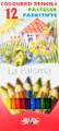 Koh-i-noor La Paloma Colored Pencils Set of 12 colors