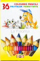 Koh-i-noor La Paloma Colored Pencils Set of 36 colors