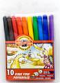 Koh-i-noor Fibre Pens Popisovace Set of 10 colors