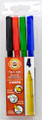 Koh-i-noor Fibre Pens Set of 4 colors